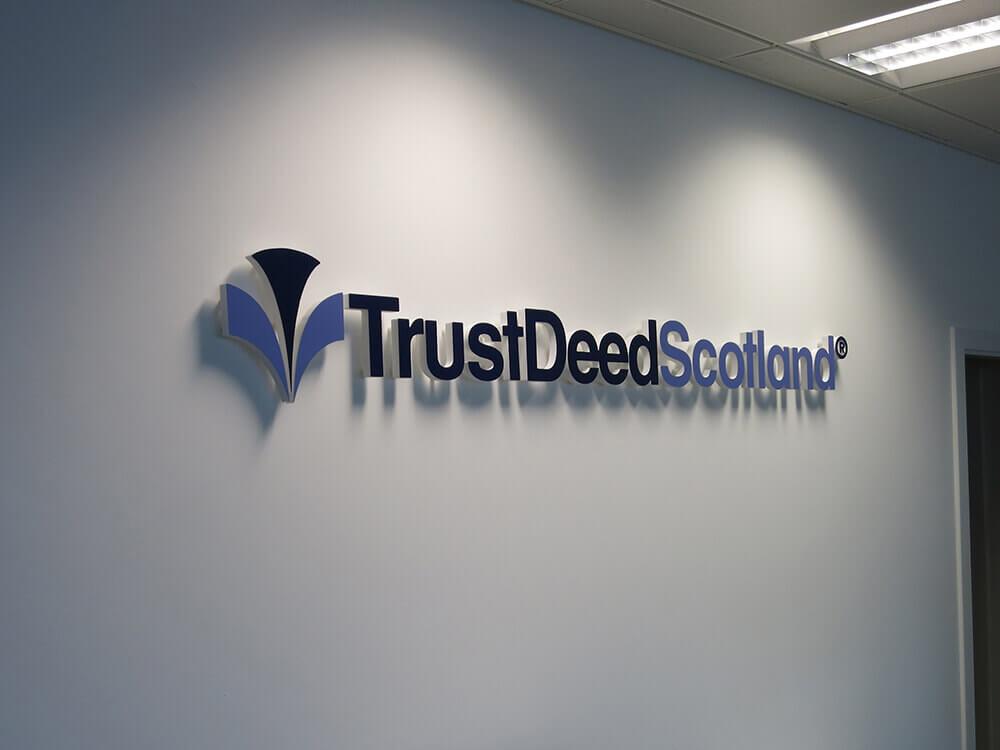 Trustdeed-Scotland-Foamex-Letters